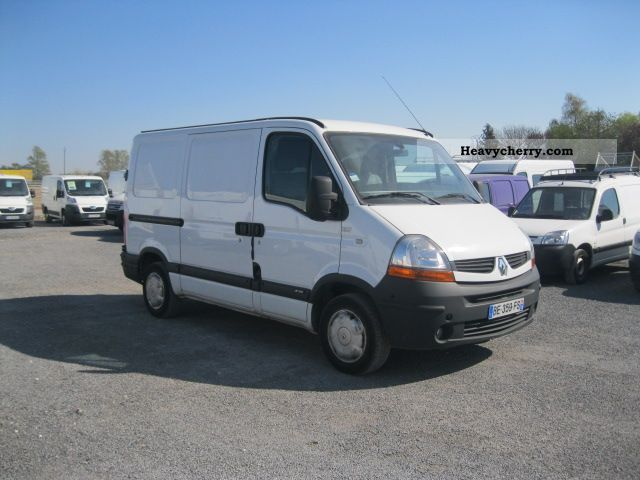 2008 Renault  MASTER RENAULT MASTER L1H1 FG DCI120 DIS Van or truck up to 7.5t Box-type delivery van photo