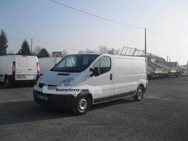 2008 Renault  RENAULT TRAFFIC TRAFFIC FG L2H1 DCI115 PAC Van or truck up to 7.5t Box-type delivery van photo