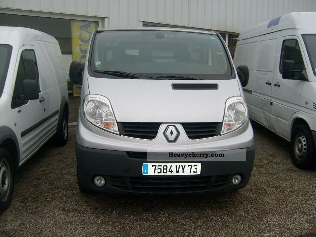 renault traffic l1h1 comfort 2008 box type delivery van photo and specs. Black Bedroom Furniture Sets. Home Design Ideas