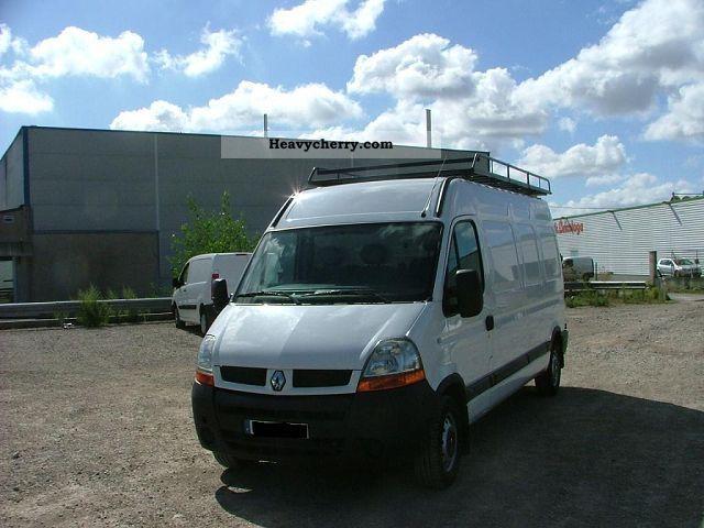 2005 Renault  MASTER L3H2 DCI 120CV 3T5 BA Van or truck up to 7.5t Box-type delivery van photo