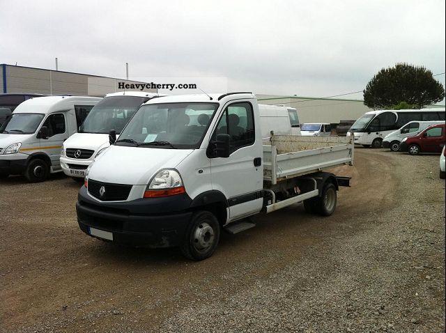 2008 Renault  MASCOTT DCI 130CV 3T5 BV6 BENNE Van or truck up to 7.5t Box-type delivery van photo
