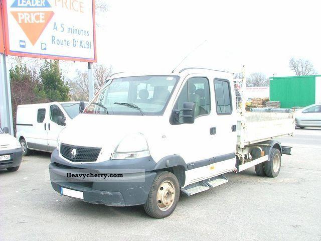 2006 Renault  MASCOTT DCI 120CV DOUBLE CABIN BENNE 3T Van or truck up to 7.5t Box-type delivery van photo