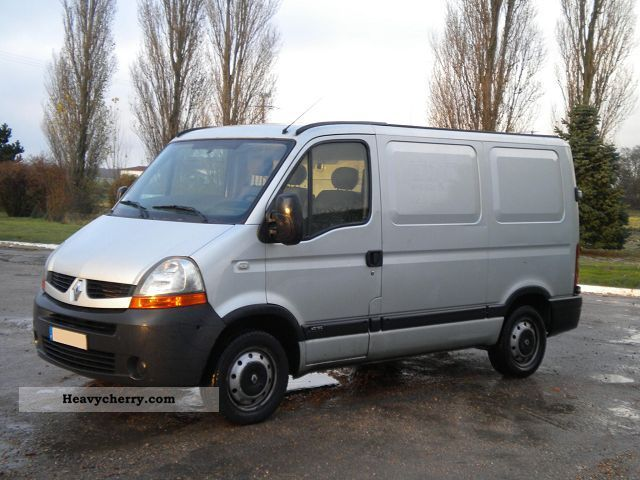 2009 Renault  MASTER SERVICES BOITE HORS 05.02 DCI100 L1 Van or truck up to 7.5t Box-type delivery van photo