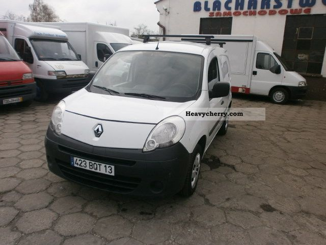 2008 Renault  Kangoo Nowy Model 2008 Air 151tkm Van or truck up to 7.5t Box-type delivery van photo