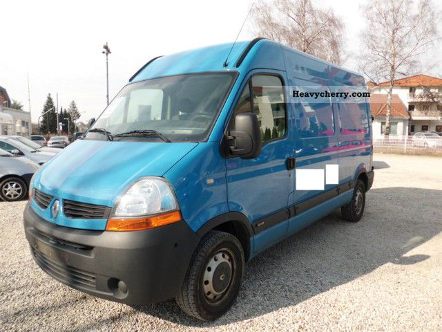 renault master 2 5 dci 120 dpf l2h2 air conditioning 2007 box type delivery van high and long. Black Bedroom Furniture Sets. Home Design Ideas