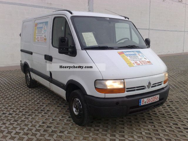 renault master 1 9 dti l1h1 2001 box type delivery van photo and specs. Black Bedroom Furniture Sets. Home Design Ideas