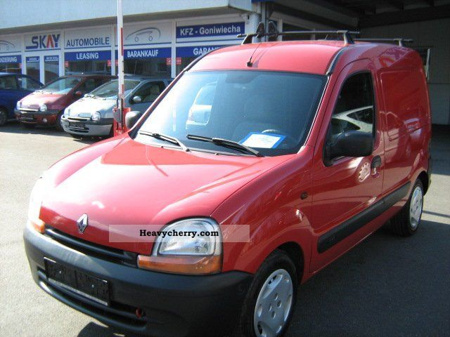 renault kangoo d65 1 hand 2002 box type delivery van photo and specs. Black Bedroom Furniture Sets. Home Design Ideas
