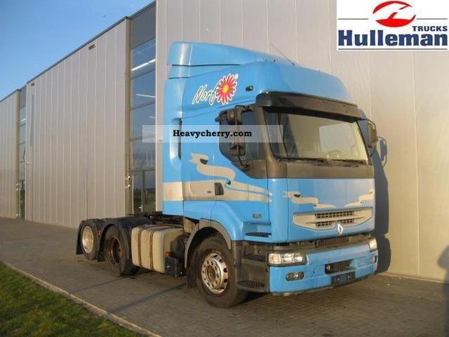 2005 Renault  PREMIUM 420DCI 6X2 EURO 3 Semi-trailer truck Heavy load photo
