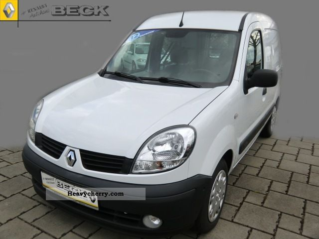 renault kangoo 1 5 dci extra air 2007 other vans trucks up to 7 photo and specs. Black Bedroom Furniture Sets. Home Design Ideas