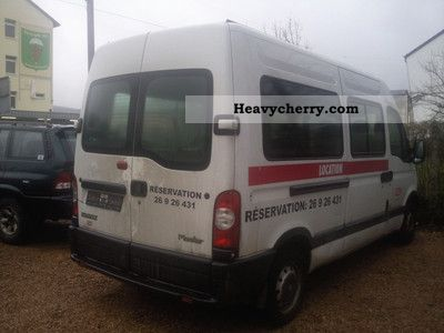 renault 2 5 dci master 120 high country seats 9 6 speed 2006 estate minibus up to 9. Black Bedroom Furniture Sets. Home Design Ideas