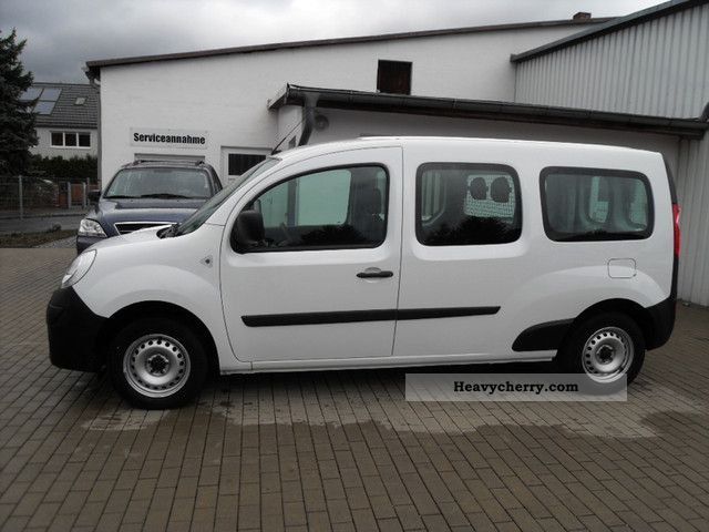renault kangoo maxi climate 2011 box type delivery van photo and specs. Black Bedroom Furniture Sets. Home Design Ideas