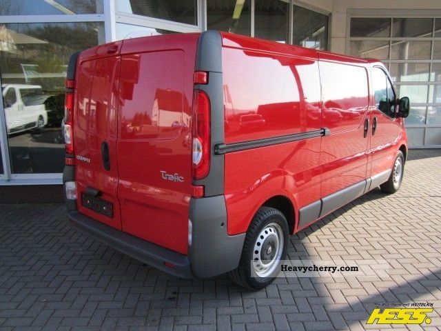 renault trafic l2h1 2 0 gas system 2008 box type delivery van photo and specs. Black Bedroom Furniture Sets. Home Design Ideas