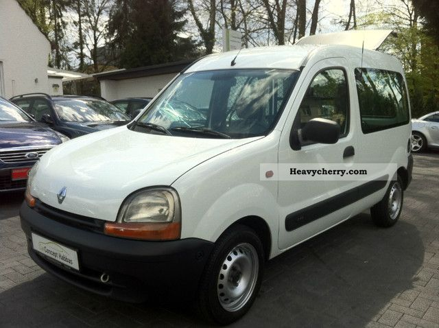 renault kangoo 1 9 d rn 2002 box type delivery van photo and specs. Black Bedroom Furniture Sets. Home Design Ideas