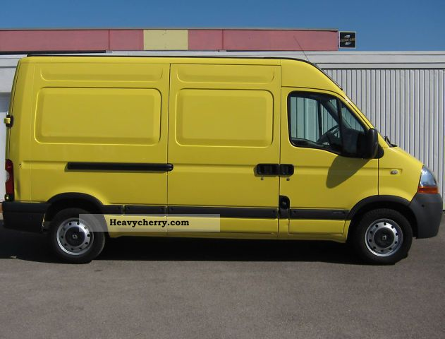 renault master 2 5 dci 120 l2h2 2007 box type delivery van high and long photo and specs. Black Bedroom Furniture Sets. Home Design Ideas