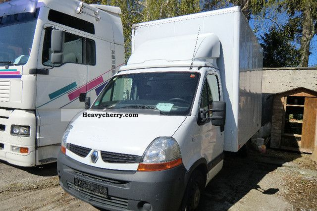 renault master 2008 box truck photo and specs. Black Bedroom Furniture Sets. Home Design Ideas