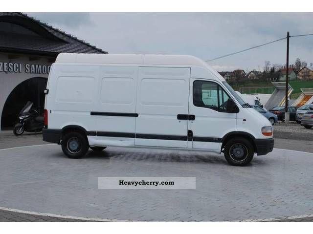 renault max master l3h3 2 5 dci 130 tys km 2003 other vans. Black Bedroom Furniture Sets. Home Design Ideas