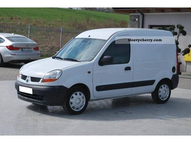 renault kangoo 1 5 dci 2003 other vans trucks up to 7 photo and specs. Black Bedroom Furniture Sets. Home Design Ideas