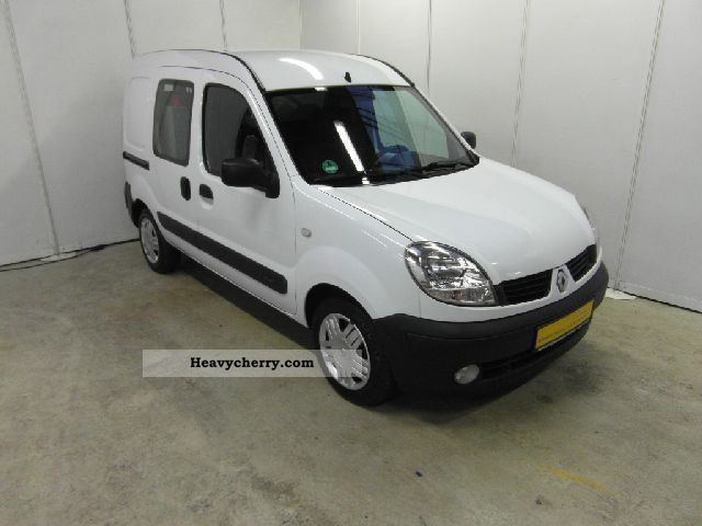 renault kangoo 1 5 dci extra rapid commercial vehicle 2007. Black Bedroom Furniture Sets. Home Design Ideas