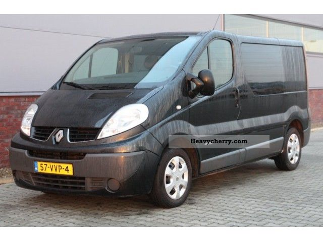 Renault Trafic 2 0 Dci 115pk L1h1 Dc Airco 2008 Other Vans
