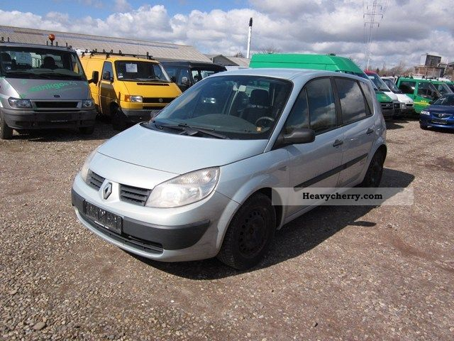 renault scenic ii 1 9 dci authentique 120 comfort 2004. Black Bedroom Furniture Sets. Home Design Ideas