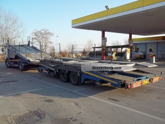 Renault 420 Bisarca 2003 Car Carrier Truck Photo And Specs