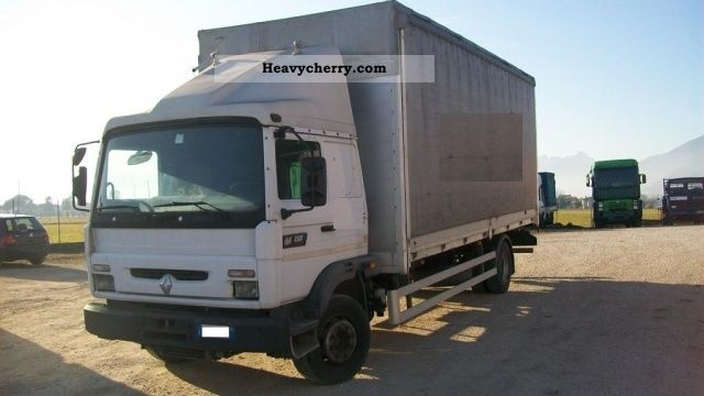 renault midliner 250 2000 box truck photo and specs. Black Bedroom Furniture Sets. Home Design Ideas