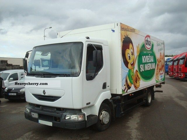 2004 Renault  Midlum 180.10 Truck over 7.5t Box photo