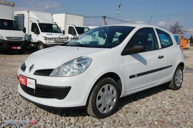 renault clio iii 1 5 dci 2008 ci arowy vat 1 2007 box type delivery van photo and specs. Black Bedroom Furniture Sets. Home Design Ideas
