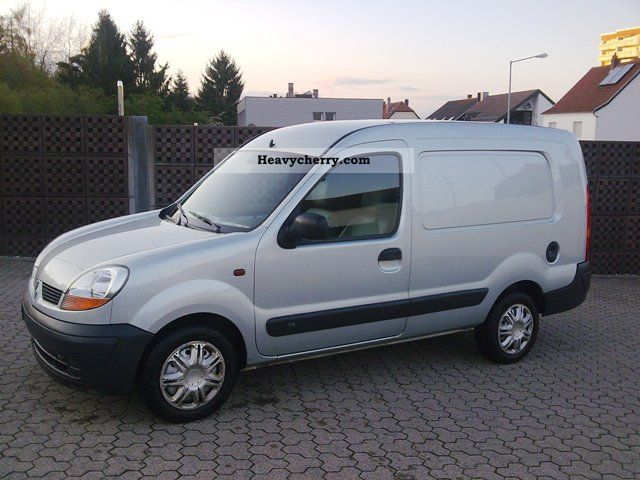 renault kangoo 1 hd rapid maxi truck registration 2005 box. Black Bedroom Furniture Sets. Home Design Ideas