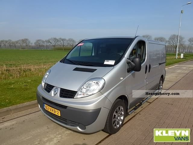 renault trafic dci 115 2 o 2008 box type delivery van. Black Bedroom Furniture Sets. Home Design Ideas