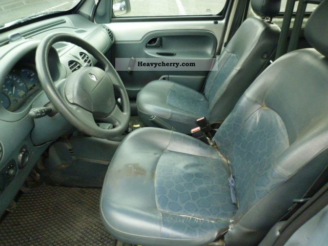renault kangoo 1 9 long d65 2000 box type delivery van photo and specs. Black Bedroom Furniture Sets. Home Design Ideas