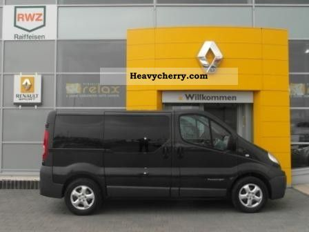 renault trafic passenger 9s l1h1 2009 clubbus photo and specs. Black Bedroom Furniture Sets. Home Design Ideas