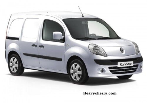 renault extra kangoo dci 90 2012 box type delivery van photo and specs. Black Bedroom Furniture Sets. Home Design Ideas
