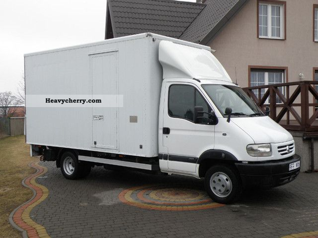 Renault Mascott 130 Cases With Lbw Dmc 3500kg 2001 Box