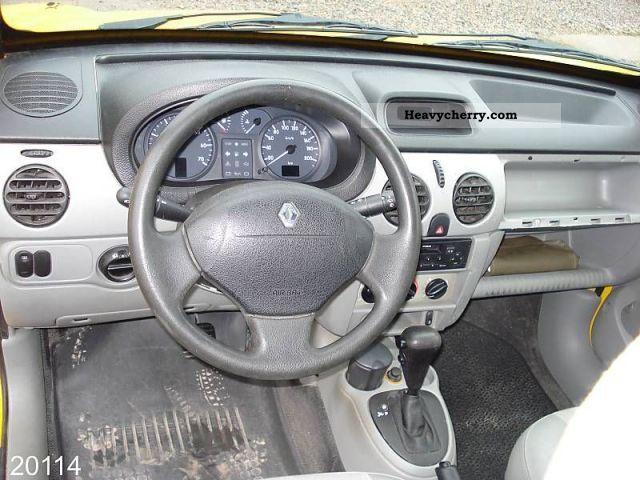 Renault Kangoo 1 4 2005 Box