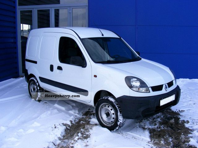renault kangoo 1 9 dci 4x4 2005 box type delivery van photo and specs. Black Bedroom Furniture Sets. Home Design Ideas