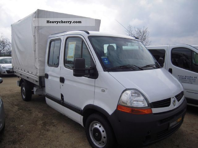 renault master 2 5 dci 120 l3h1 2008 stake body truck photo and specs. Black Bedroom Furniture Sets. Home Design Ideas