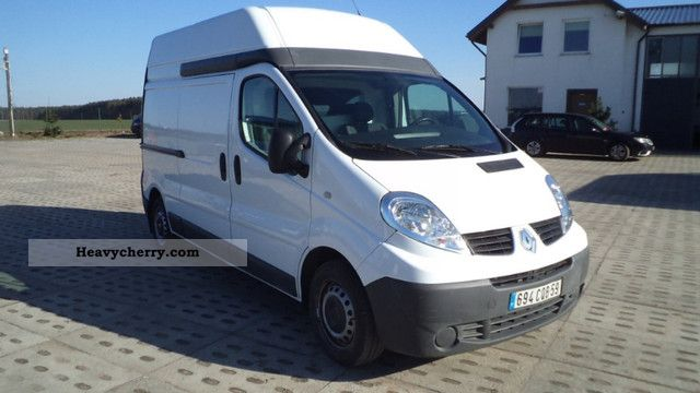 renault trafic 2 5 dci maxi l2h2 air seats 2010 box type delivery van high and long photo and. Black Bedroom Furniture Sets. Home Design Ideas