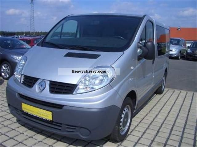 renault trafic 2 0 dci 90 combi l1h1 2008 other vans. Black Bedroom Furniture Sets. Home Design Ideas