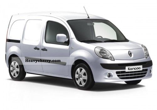 renault extra kangoo dci 110 2011 box type delivery van photo and specs. Black Bedroom Furniture Sets. Home Design Ideas