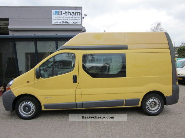 renault trafic l2h2 1 9dci doka lang high 2004 box type delivery van high and long photo. Black Bedroom Furniture Sets. Home Design Ideas