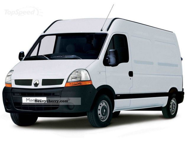 Renault Master 2005 Refrigerator Box Truck Photo And Specs