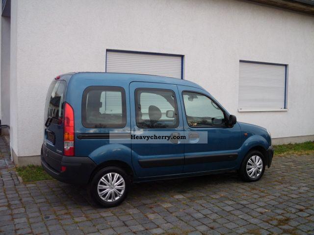 renault kangoo 1 6 16v 5 seater 2 sliding with vat 2005 other vans trucks up to 7 photo. Black Bedroom Furniture Sets. Home Design Ideas
