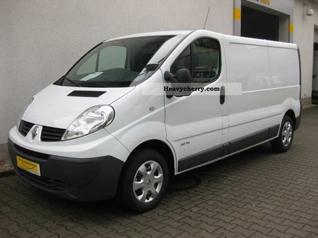 Renault Trafic L2h1 2 9 T Box Truck 2012 Box Type Delivery