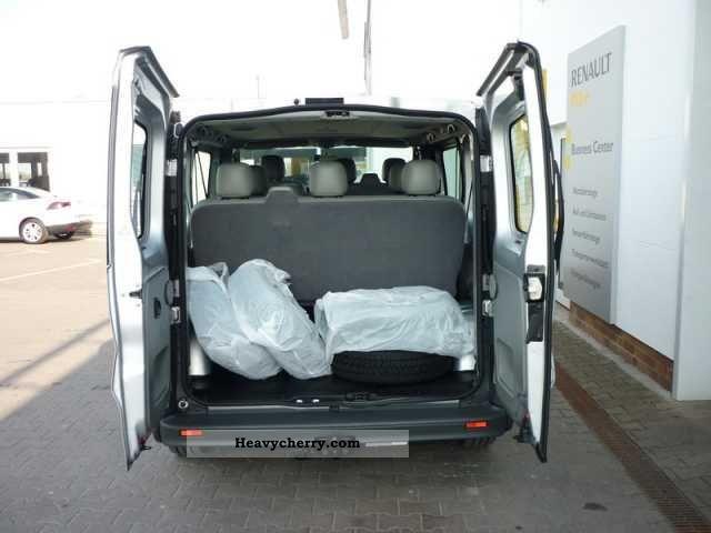 renault trafic 2 0 dci 90 l1h1 2 7 t 8 9 sitzer 2009. Black Bedroom Furniture Sets. Home Design Ideas