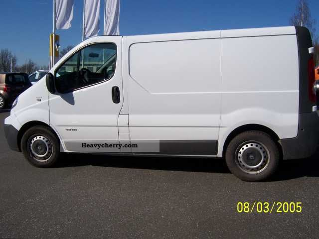 renault trafic 2 5 dci 150 l1h1 2008 box type delivery van. Black Bedroom Furniture Sets. Home Design Ideas