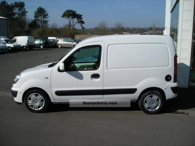 Renault Kangoo Express Grand Cft Dci70 2006 Box Truck Photo And Specs