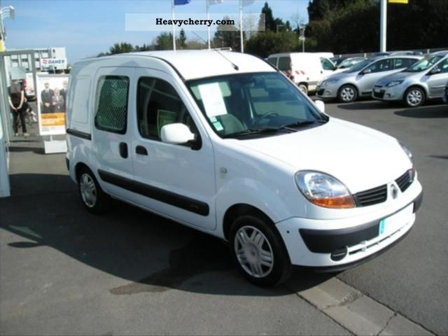 renault kangoo express grand cft dci70 2006 box truck photo and specs. Black Bedroom Furniture Sets. Home Design Ideas