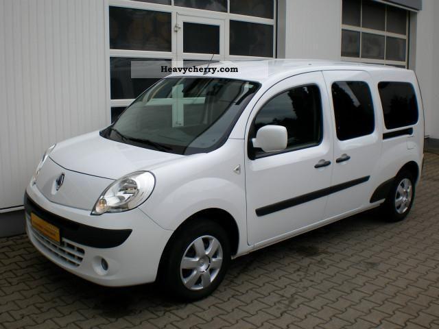 Renault Kangoo 1 5 Dci Maxi Truck 5 Seater Air 2010