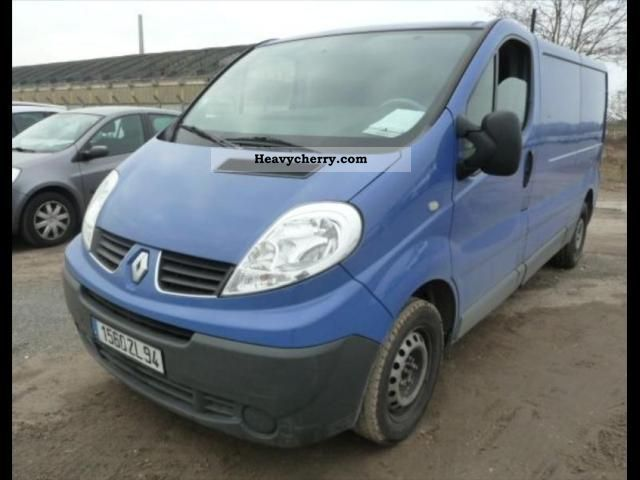 renault trafic l2h1 confort dci90 2008 box truck photo and specs. Black Bedroom Furniture Sets. Home Design Ideas